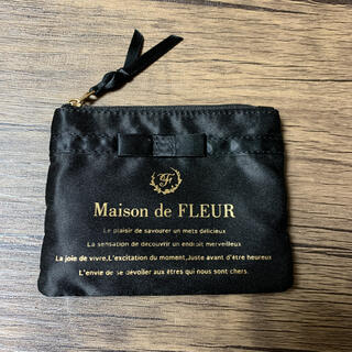 Maison de FLEUR - ♡♡ メゾンドフルール ティッシュ ポーチ ブラック
