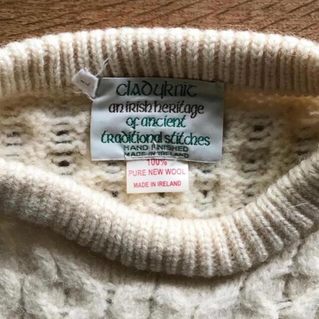 Ron Herman(ロンハーマン)の古着屋olgou オルゴー購入 アランニット セーター レディースのトップス(ニット/セーター)の商品写真