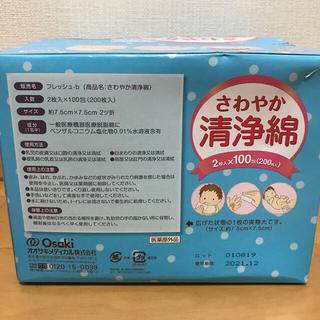 清浄綿 2枚入×100包(200枚入) 5箱セット