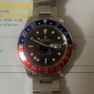 ROLEX - ロレックス GMTマスター 16700 美品 日本ロレックス明細書あり