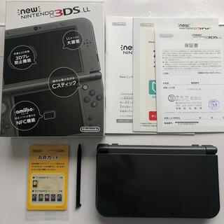 ニンテンドー3DS(ニンテンドー3DS)の任天堂   Newニンテンドー3DS LL メタリックブラック(携帯用ゲーム機本体)