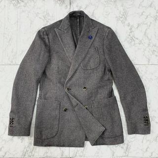 BOGLIOLI - 美品 LARDINI ラルディーニ 2者混 ダブルブレストジャケット / 44