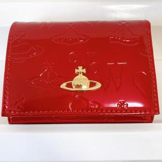 Vivienne Westwood - 《限定SALE》Vivienne ヴィヴィアンウエストウッド 折り財布 赤