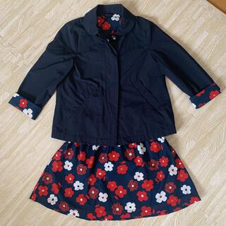 familiar - ☆familiar スプリングコート&スカート❣️美品‼︎超お買い得❣️☆