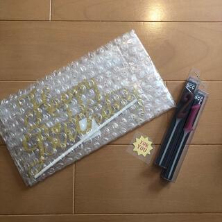 【新品未使用】バースデーケーキトッパー・ロウソク・シールのセット(その他)