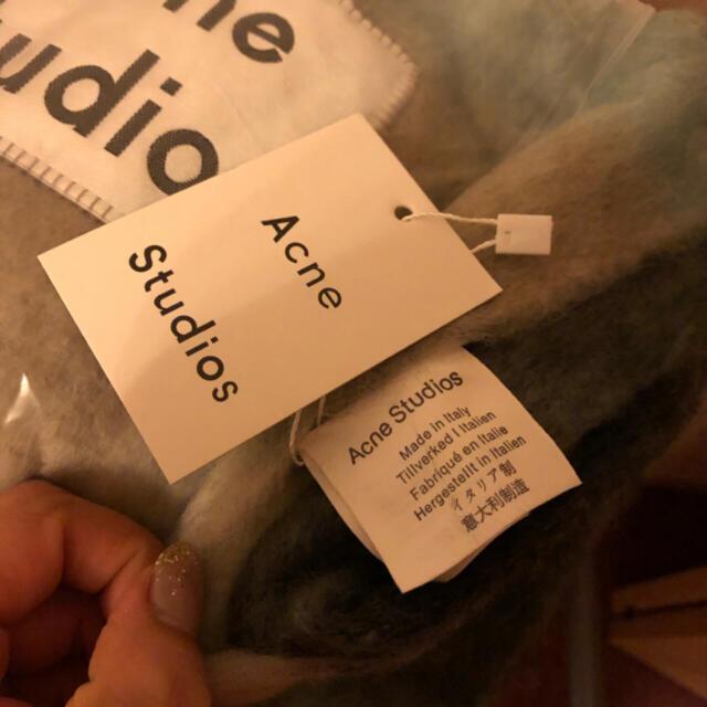 sale‼️新品未使用❤️acne studiosアクネマフラーショール レディースのファッション小物(マフラー/ショール)の商品写真