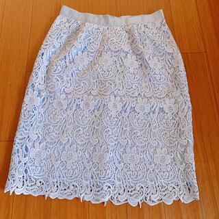 MISCH MASCH - 未使用 レースタイトスカート