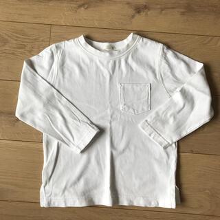 GU - 白 長袖 ロンT  男の子 女の子 男女兼用 サイズ110