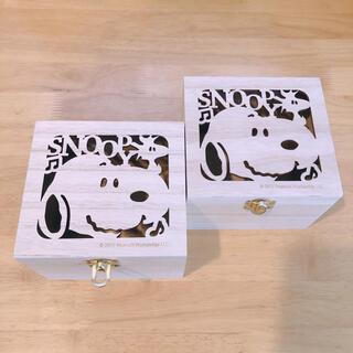 ピーナッツ(PEANUTS)のスヌーピー 小物入れ 木箱(小物入れ)