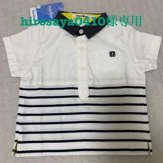 familiar - ファミリア 新品未使用 シャツ(半袖)サイズ80