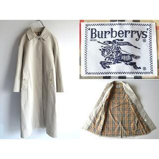 BURBERRY - 希少 ビンテージ バーバリー 裏ノバチェック コットンギャバ バルマカーンコート