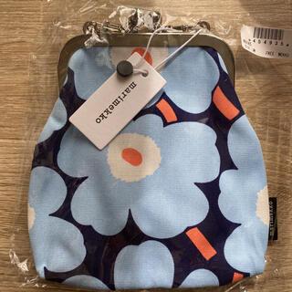 marimekko - マリメッコ ウニッコ柄がま口ポシェット 新品タグ付き