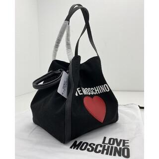 モスキーノ(MOSCHINO)の新品 LOVE MOSCHINO トートバッグ  ブラック(トートバッグ)