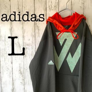 adidas - 【adidas×1点物】古着 アディダス メンズ パーカー プルオーバー 激レア