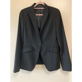コムサイズム(COMME CA ISM)のスーツ ジャケット 黒 コムサ(テーラードジャケット)