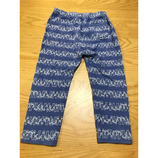 UNIQLO(ユニクロ)のUNIQLO スパッツ レギンス size90 3枚セット ミッキー ムーミン キッズ/ベビー/マタニティのキッズ服男の子用(90cm~)(パンツ/スパッツ)の商品写真