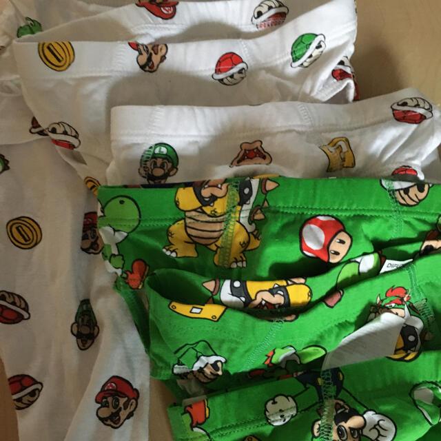 H&M(エイチアンドエム)のスーパーマリオ パジャマ&パンツセット キッズ/ベビー/マタニティのキッズ服男の子用(90cm~)(パジャマ)の商品写真