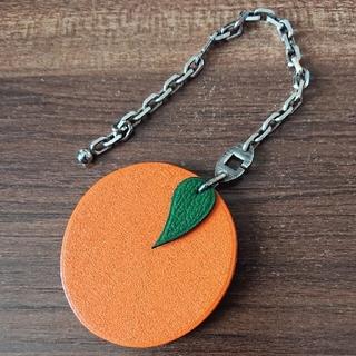 エルメス(Hermes)のエルメス フリュイ キーリング オレンジ(キーホルダー)