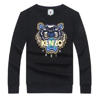 ケンゾー(KENZO)の人気新品  kenzoメンズ  無地 コットン長袖カバー  M-2XL(Tシャツ/カットソー(七分/長袖))