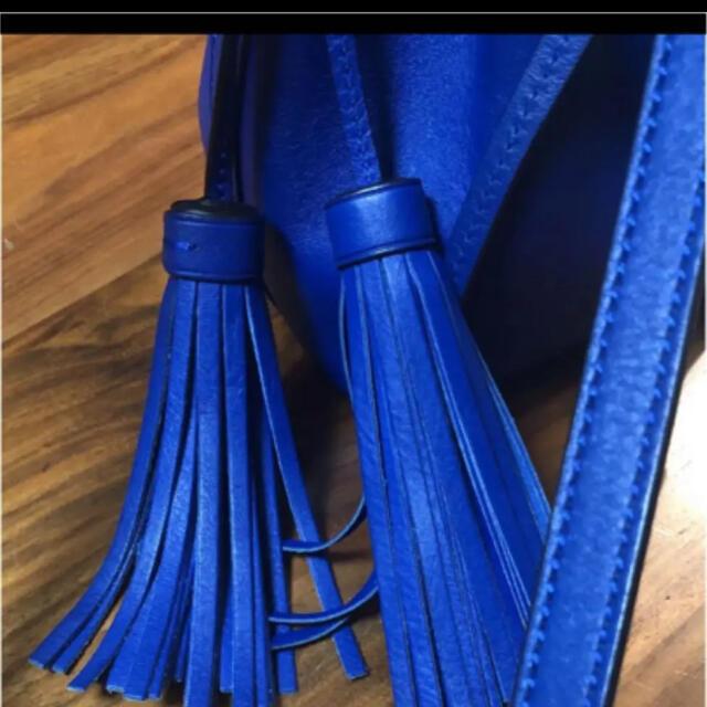 POLO RALPH LAUREN(ポロラルフローレン)の値下げ!春 ラルフローレン ショルダーバッグ タッセル レディースのバッグ(ショルダーバッグ)の商品写真