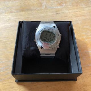 セイコー(SEIKO)のセイコー ジウジアーロ デジタル シルバー(腕時計(デジタル))