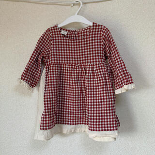 petit main - 韓国子供服 ワンピース