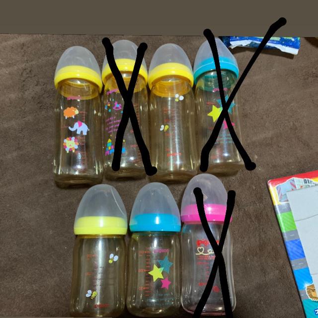 Pigeon母乳実感哺乳瓶 キッズ/ベビー/マタニティの授乳/お食事用品(哺乳ビン)の商品写真