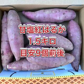 【鹿児島産】甘塩サツマイモ箱込み1.5キロ^_^(野菜)