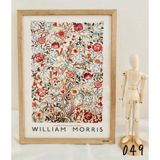 《新品》ウィリアムモリス キャンバス ポスター 049