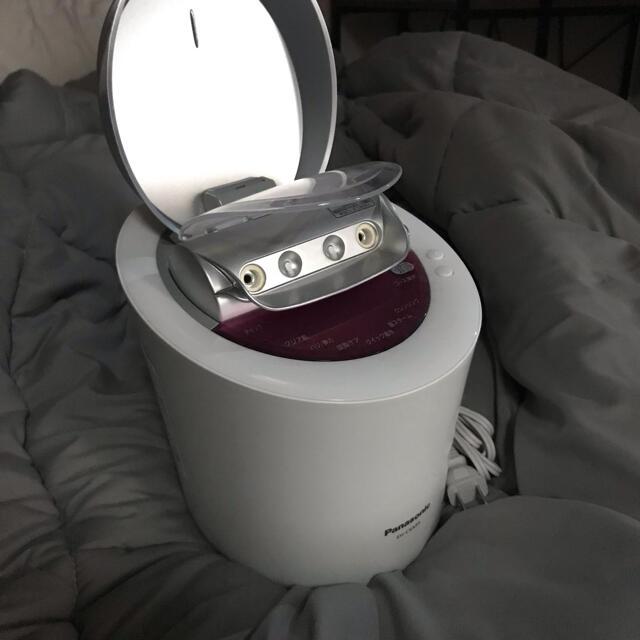 Panasonic(パナソニック)のパナソニック スチーマー ナノケア ピンク調 EH-CSA95-P スマホ/家電/カメラの美容/健康(フェイスケア/美顔器)の商品写真