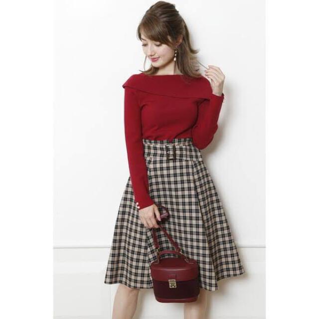 Apuweiser-riche(アプワイザーリッシェ)の新品アプワイザーリッシェバレンシア チェックスカートレッセパッセウィルセレクショ レディースのスカート(ひざ丈スカート)の商品写真