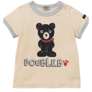 mikihouse - ミキハウス ダブルB Tシャツ 130cm (62-5203-383)