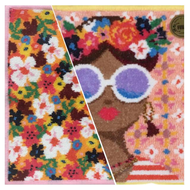 FEILER(フェイラー)の《FEILER》セニョリータ ハンカチ 2枚set レディースのファッション小物(ハンカチ)の商品写真