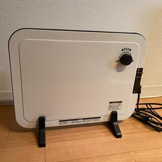 ヤマゼン(山善)の山善 DP-SB167 温度調整機能付きミニパネルヒーター(電気ヒーター)