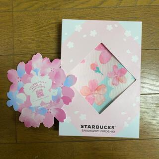 Starbucks Coffee - スターバックスさくらシリーズ 2021  風呂敷コースター