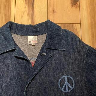 ジーディーシー(GDC)のgdc デニム刺繍ジャケット(Gジャン/デニムジャケット)