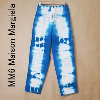 マルタンマルジェラ(Maison Martin Margiela)の未使用 MM6 MaisonMargiela メゾンマルジェラ 38 青 パンツ(カジュアルパンツ)