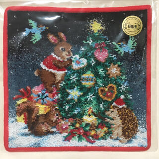 FEILER - 《FEILER》リトルクリスマスナイト ハンカチ
