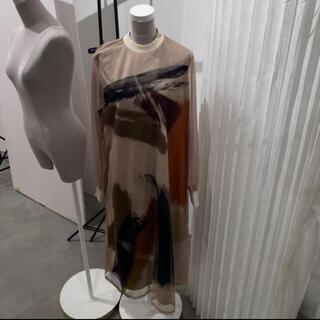 Ameri VINTAGE - Ameri Vintage LOUISE ART DRESS 新宿ルミネ店限定