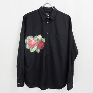 COMME des GARCONS HOMME PLUS - 2012AW コムデギャルソン オム プリュス フラワー シャツ 花柄 薔薇