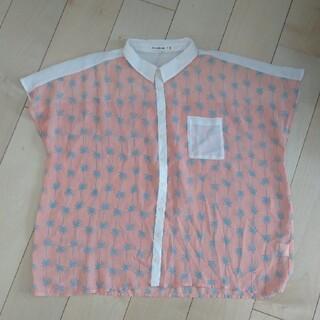 キューティーブロンド(Cutie Blonde)のキューティーブロンド シースルーシャツ(シャツ/ブラウス(半袖/袖なし))