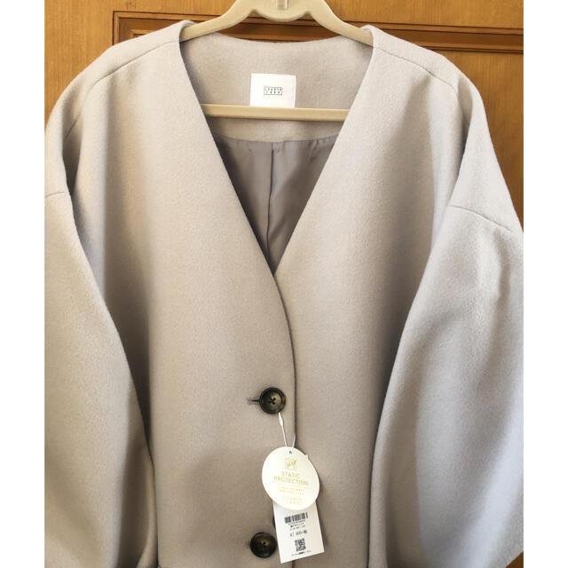 LOWRYS FARM(ローリーズファーム)の新品未使用🌟ローリーズファームのノーカラーコート レディースのジャケット/アウター(ノーカラージャケット)の商品写真