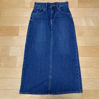 リー(Lee)のLee ロング デニム スカート size S CC19(ロングスカート)