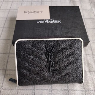Yves Saint Laurent Beaute - ❀人気品美品/国内発送/送料込み❀ Y❤SL 折り財布 小銭入れ