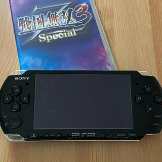 PlayStation Portable - PSP 3000 本体 + 戦国無双3 Z Special ジャンク品
