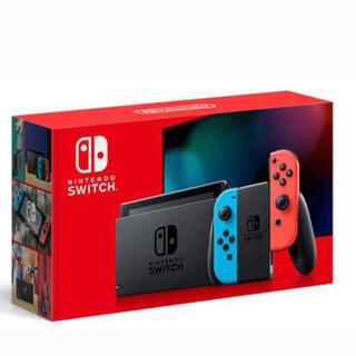 Nintendo Switch - switch 新型 ネオン5台 マリオレッド×ブルー1台 新品未使用