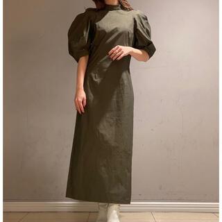 カスタネ(Kastane)のGOSPELL Puff Sleeve Midi dress(ロングワンピース/マキシワンピース)