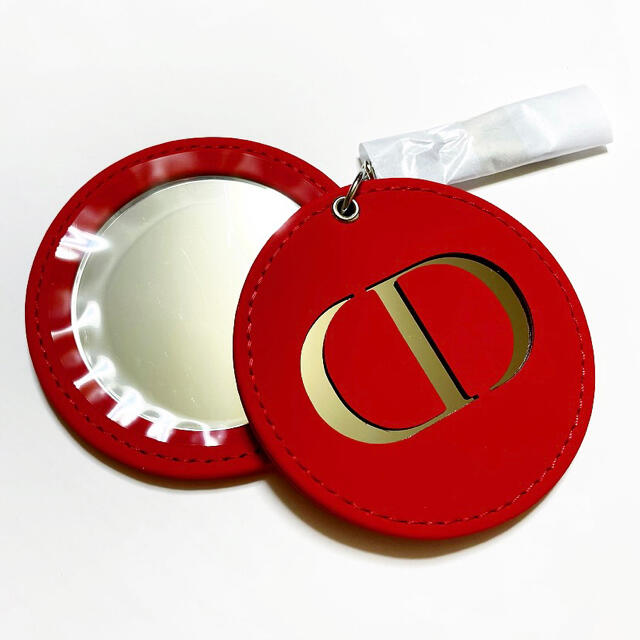 Christian Dior(クリスチャンディオール)の【店舗限定品】DIOR ディオール ミラー チャーム 新品未使用 レディースのファッション小物(ミラー)の商品写真