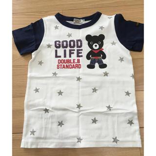 ダブルビー(DOUBLE.B)の【中古品】ダブルB Tシャツ110(Tシャツ/カットソー)