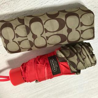 COACH - コーチ折りたたみ傘美品